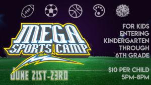 Mega Sports Camp Nations Church Athens GA